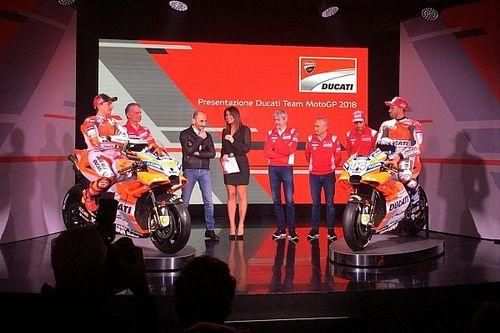 Fotogallery: presentazione Ducati Team MotoGP 2018