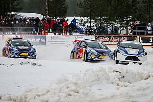 IndyCar News RallyX on Ice: IndyCar-Stars wagen sich aufs Eis