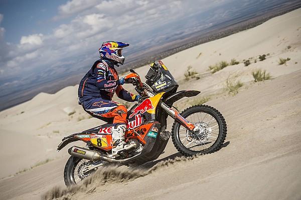 Dakar Rapport d'étape Motos, étape 13 - Price enchaîne, Walkner déroule