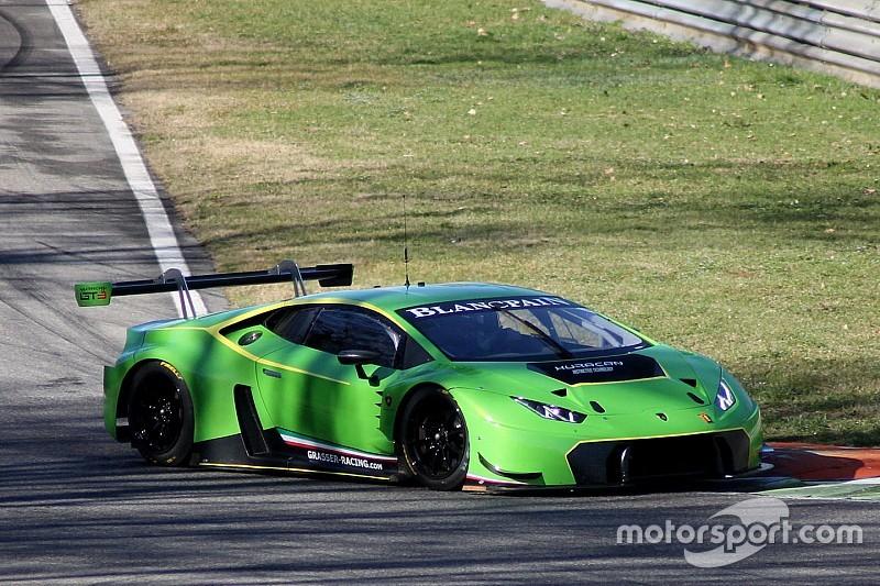 Proseguono i test di Beretta, Piccini e Stolz con la Lamborghini Huracán GT3