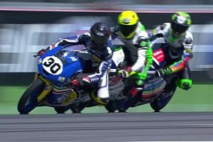 CIV Moto3 Gara Edoardo Sintoni crede nella rimonta e conquista il successo ad Imola