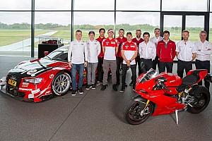 General Noticias de última hora Lorenzo, en la reunión de pilotos Audi Sport