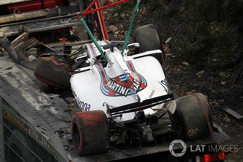 Nach Crash bei F1 in Spa: Felipe Massa muss sein Chassis wechseln