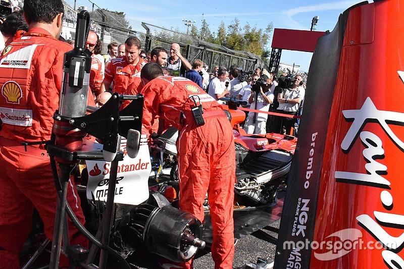 Ferrari: ci vogliono oltre 20 minuti per sostituire una candela sulla SF70H