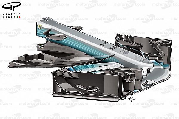 Формула 1 Аналитика Видеоанализ: как в Mercedes переработали свою машину Ф1