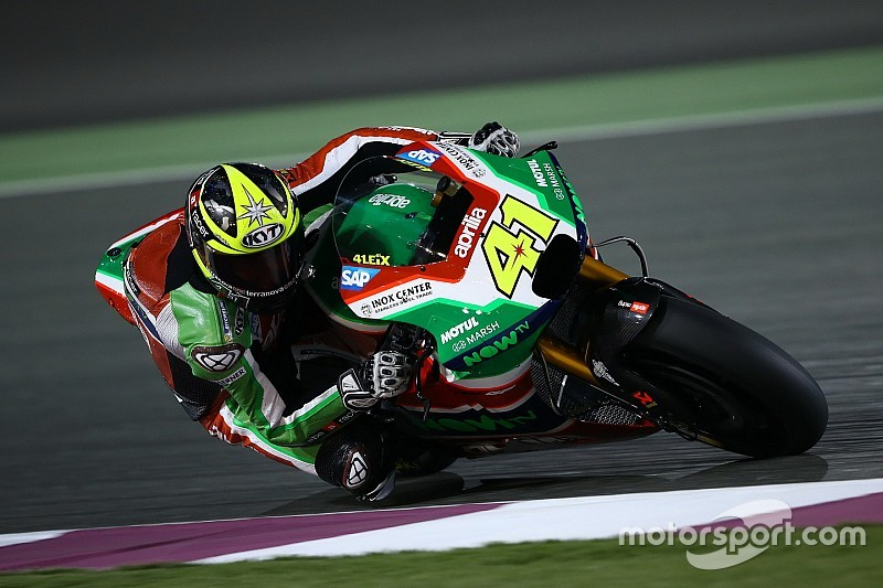 "Aprilia ""ready"" to field satellite MotoGP bikes in 2018"