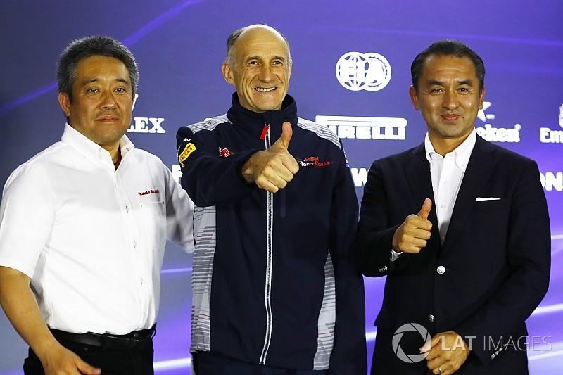 """""""F1はホンダのDNA""""「撤退は考えなかった。来季の目標はトップ3」"""