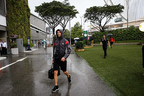 Грожан засумнівався у можливості проведення дощового ГП Сінгапуру