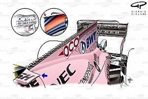 Formel-1-Technik: Entwicklung des Force India VJM10 in der Saison 2017