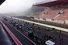 Eurocup Spa: Kabut tebal, Race 1 berjalan prematur
