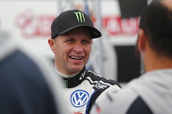 World Rallycross Ultime notizie Petter Solberg si è fratturato una clavicola nell'incidente in Lettonia