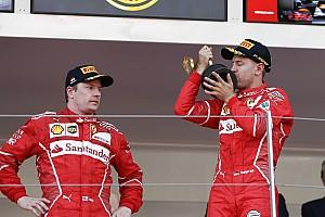 Räikkönen : Je ne suis pas là pour finir deuxième