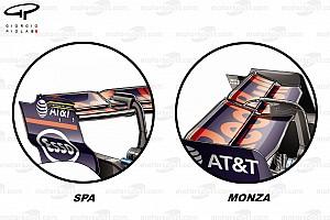 Formule 1 Analyse Les configurations aéro qui ont fait la différence à Monza