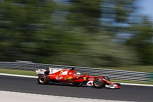 Hungarian GP: Vettel leads all-Ferrari front row, Hamilton fourth