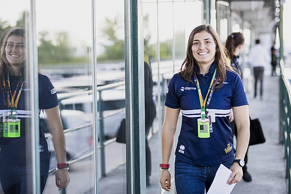 GP3 Special feature Tatiana Calderon: It's time to show Sauber what I can really do