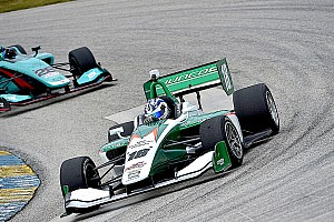 Indy Lights Reporte de calificación Indy Lights: Kaiser, con la pole para la carrera del sábado en Barber