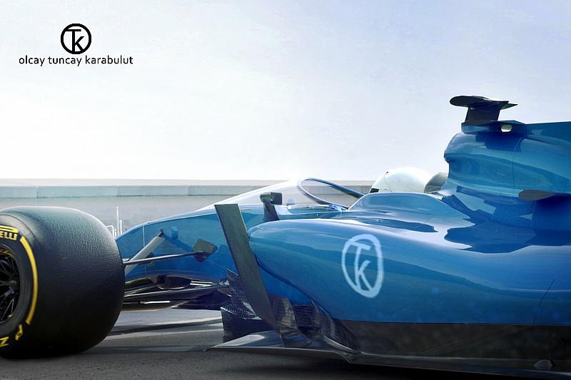 GALERIA: Designer cria esboço de Escudo para F1