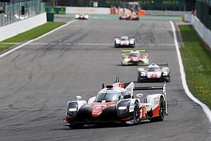 WEC Reporte de la carrera Toyota logra doblete en las 6 horas de Spa en el WEC