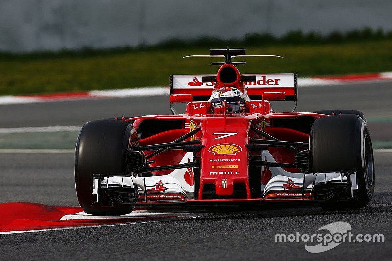 Barcelone, J2 - Räikkönen devance Hamilton d'un souffle