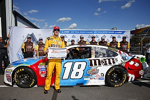 NASCAR Cup Reporte de calificación Kyle Busch toma la pole en Pocono y Suárez en 14º