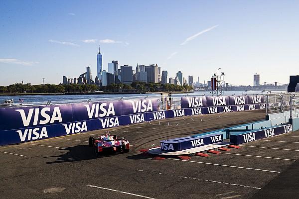 La parrilla de salida para el ePrix de Nueva York