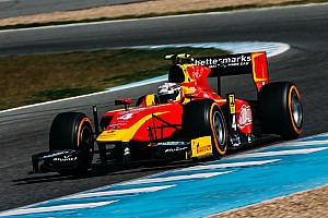 FIA F2 Testing report King sets the pace on Day 2 at Jerez