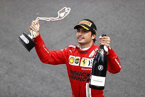 Un podium au goût mitigé pour Carlos Sainz