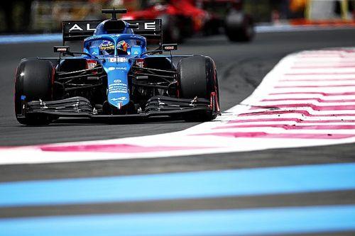 Alonso y por qué Alpine no puede arreglar el ritmo de carrera