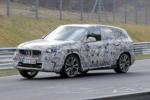 Az új BMW X1 már a Nürburgringen köröz