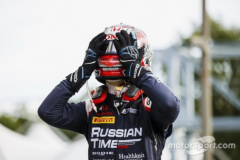 Honda-Junior Makino: Ahnungslos zum ersten Formel-2-Sieg