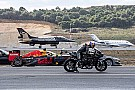 Watch a Formula 1 car race a Tesla, superbike, fighter jet & more