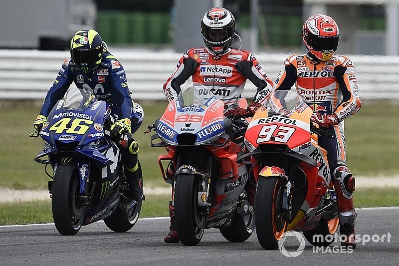 """Rossi: """"Honda tendrá que gestionar la situación entre Lorenzo y Márquez"""""""