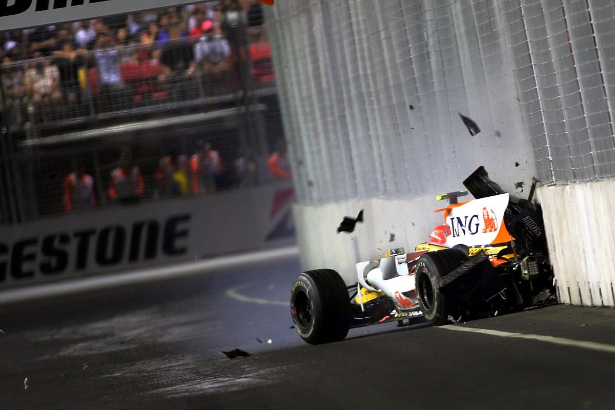 Как это было: Гран При Сингапура'08, где Алонсо одержал самую нечестную победу в карьере