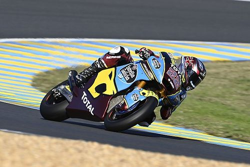 Lowes wint Moto2-race in Le Mans na drama voor Dixon, Roberts