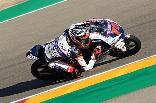 Moto3, Teruel, Libere 3: Arenas da urlo, Vietti terzo