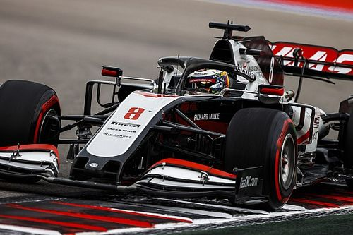 Haas F1, en problemas