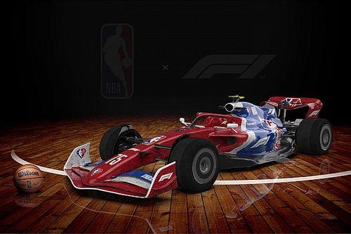 La F1 se une a la NBA: ¡así serían los coches 2022 por franquicias!