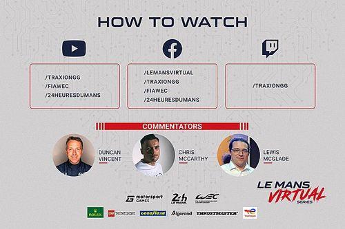 Todo listo para la segunda ronda de las Le Mans Virtual Series by Motorsport Games