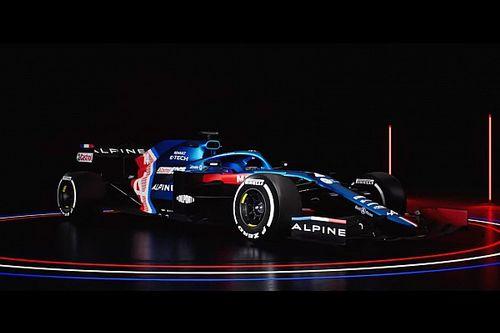 Alpine presentó el A521, monoplaza para la F1 2021