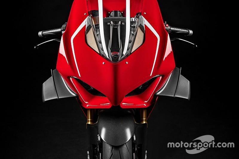 La Panigale V4, ou l'arrivée des ailerons en Superbike