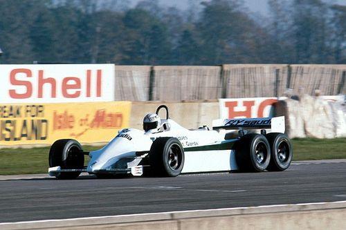 Rétro 1982 - La Williams-Ford FW08B à 6 roues