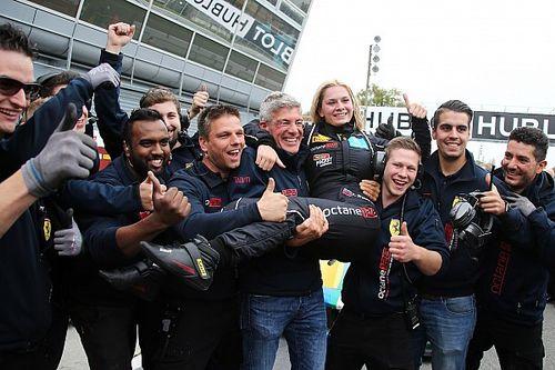 Fabienne Wohlwend championne du monde AM lors des Ferrari World Finals !