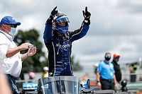 IndyCar Road America: Rosenqvist snatches Race 2 win from O'Ward