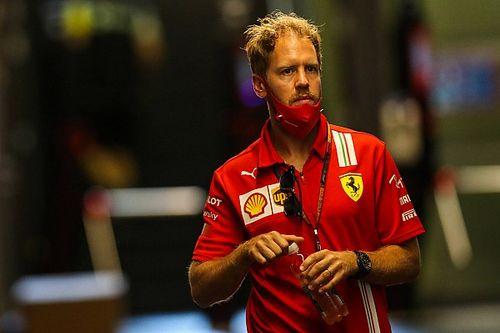 """Vettel: """"Trovati due problemi a freno e ammortizzatori"""""""