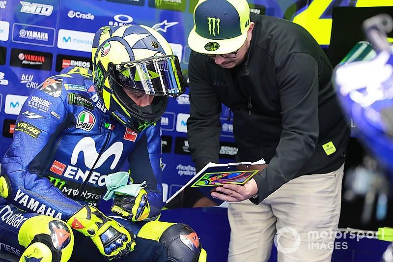 Rossi reste prudent après une première journée incertaine