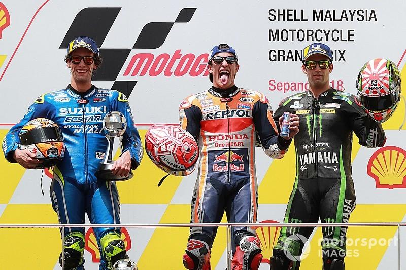Course - Márquez fait plier Rossi à Sepang !