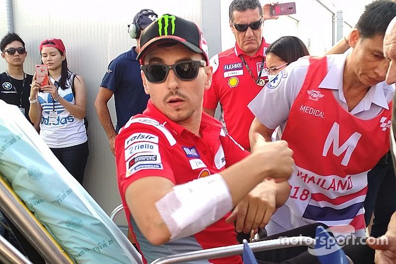Lorenzo to miss Thailand MotoGP race, doubts for Japan