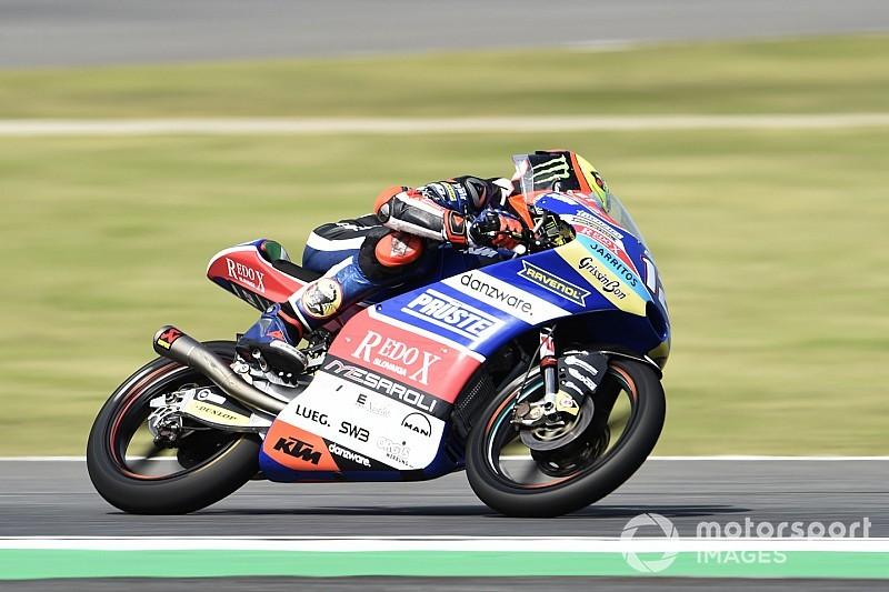 Moto3, Buriram: Bezzecchi centra la pole, Martin dolorante ad un polso