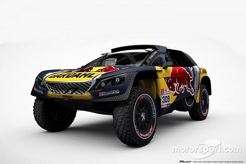 Fotogallery Dakar: ecco la livrea della Peugeot 3008 DKR 2019 di Sébastien Loeb