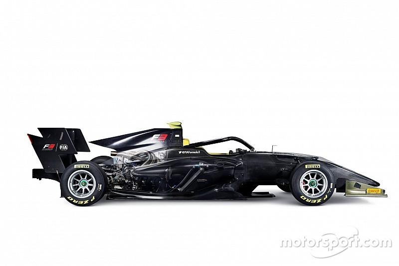 New FIA Formula 3 car unveiled